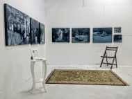 Part of Nightscapes collection in studio corner
