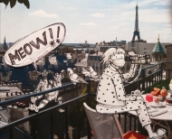 """Regarded vous,...all the French """"Jacques"""" live in a building over there. Jacques Cousteau, Cartier, Chiroc and even frere Jacques. Paris is so cool."""